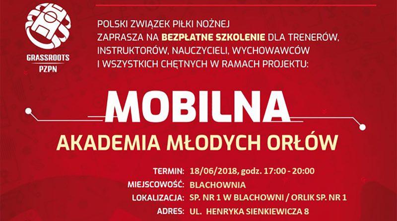 Mobilna Akademia Młodych Orłów wBlachowni