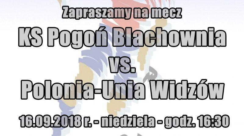 Zaproszenie namecz KS Pogoń Blachownia